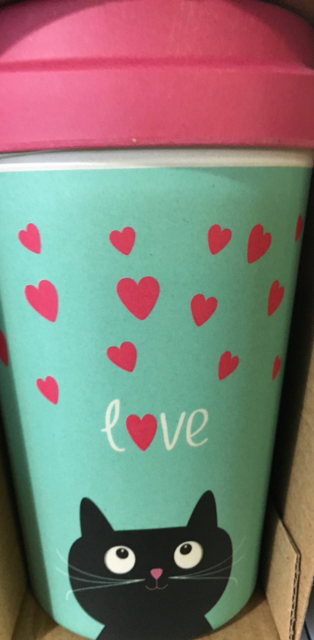 "CHIC BAMBOO CUP ""Kitty Love"""