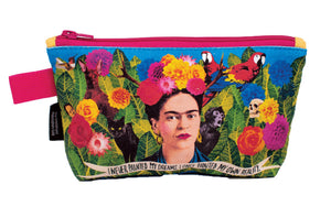 Frida Kahlo Small Zipper Bag