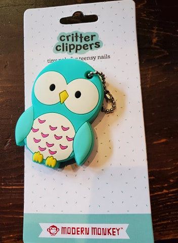 Assorted Kids Critter Nail Clippers