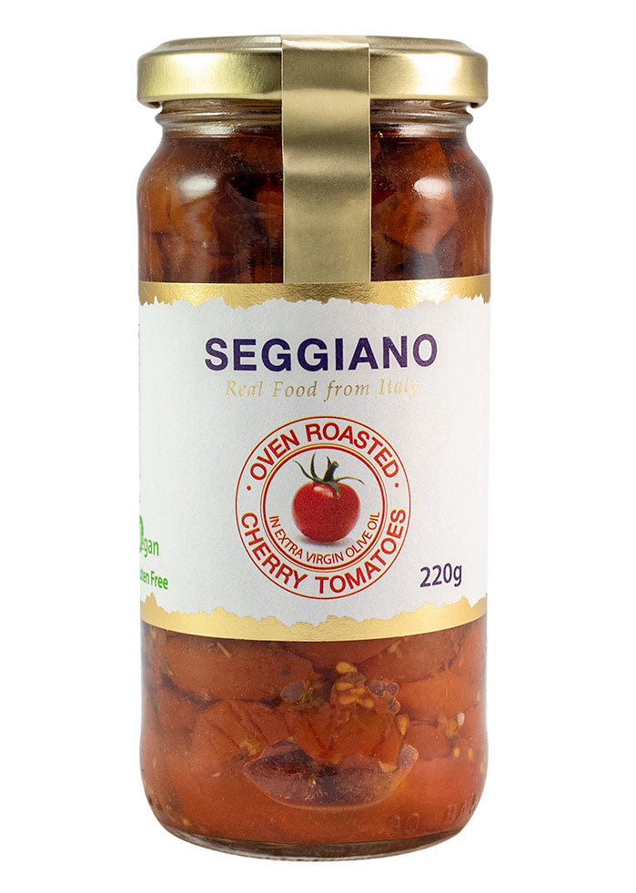 Oven roasted cherry tomatoes, Seggiano 220g