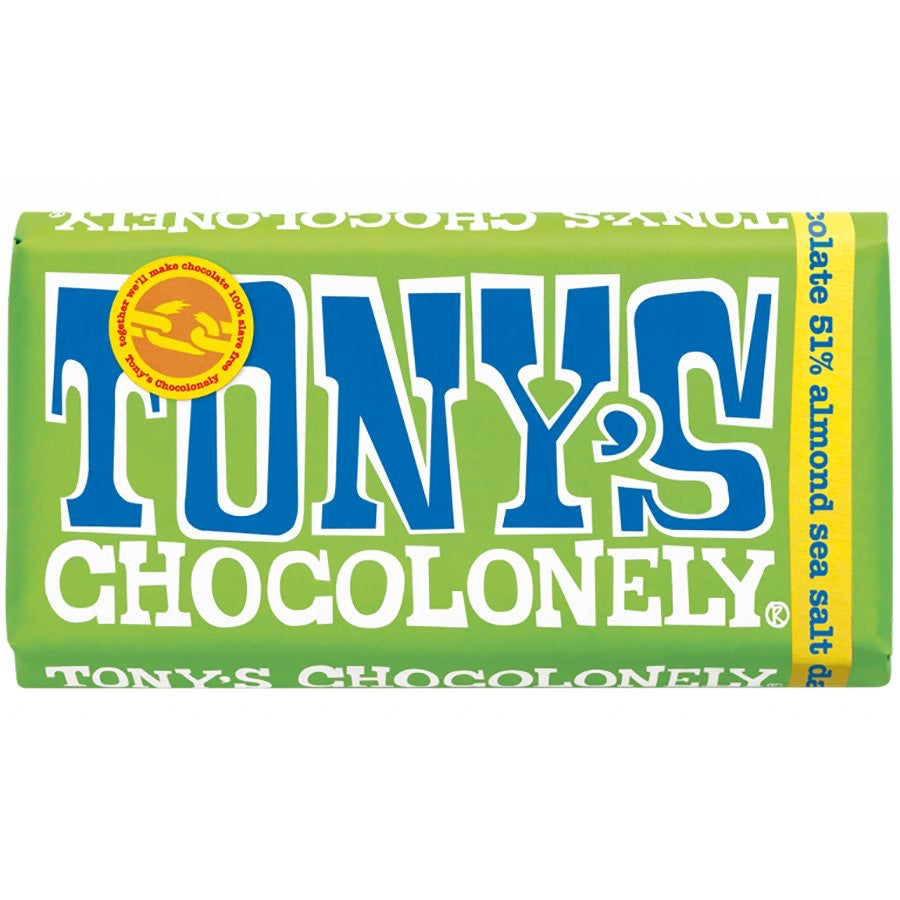 Dark Chocolate 51%, Tony's Chocolonely 180g