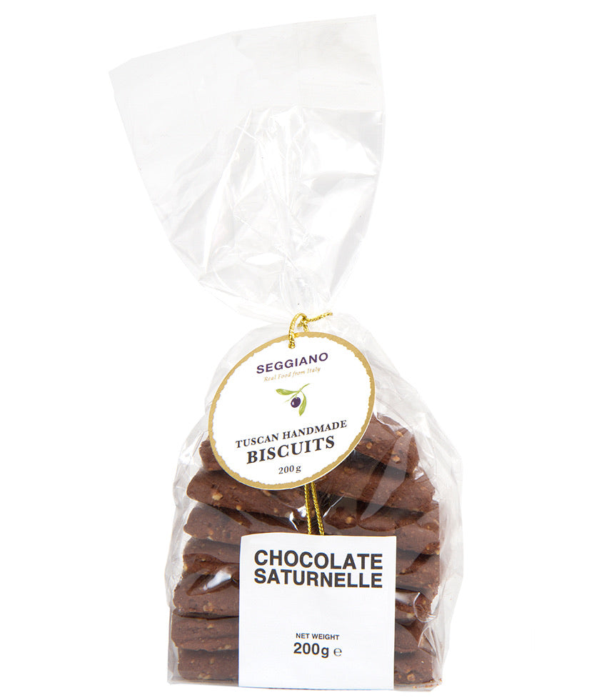 Chocolate Saturnelle Biscuits, Seggiano 200g