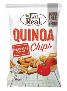 Quinoa Paprika Chips, Eat Real 113g