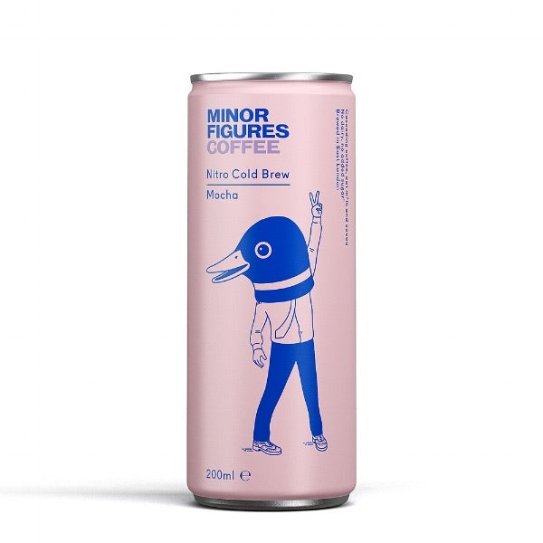 Nitro Cold Brew Mocha, Minor Figures 200ml