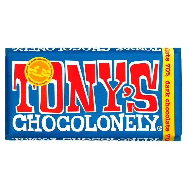 Dark Chocolate 70%, Tony's Chocolonely 180g