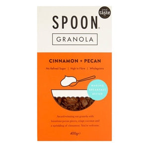 Cinemon & Pecan Granola, Spoon 400g