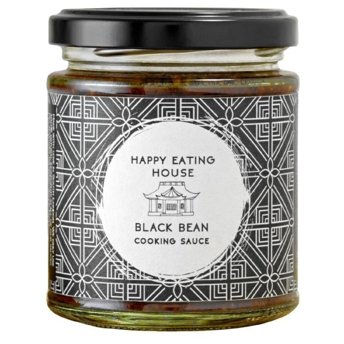 Black Bean Cooking Sauce, Happy Eating House 190ml