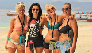 Gili Island Girls Love SwimCell Waterproof Case for iPhone and Android