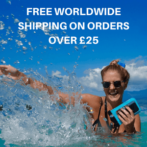 FREE WORLDWIDE SHIPPING on all orders over £25
