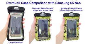 Which Size SwimCell Waterproof Case Should I Buy?