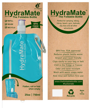 HydraMate Foldable Bottle For Summer Picnics