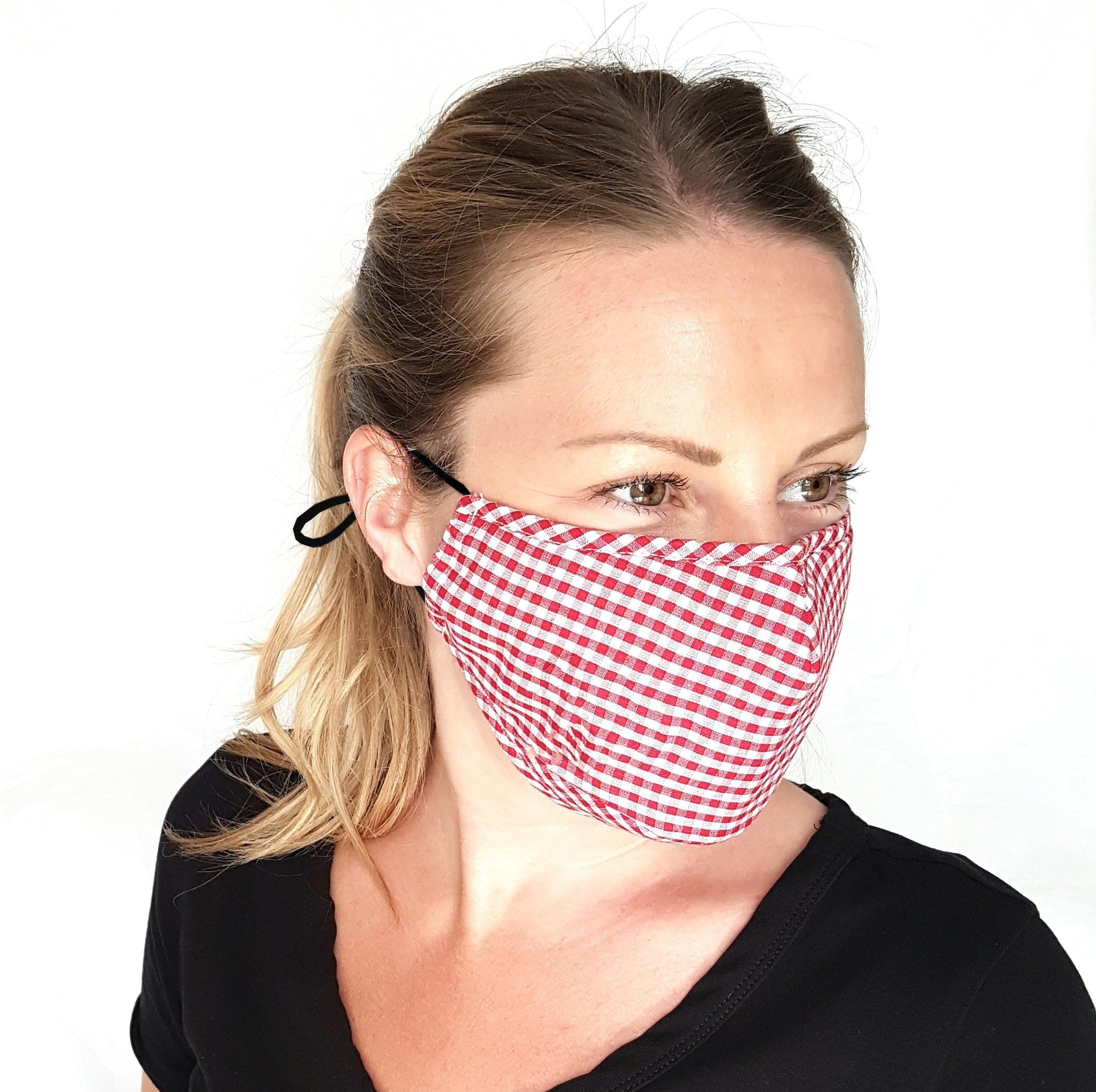 Gingham Face Mask - The Trend of Summer 2020