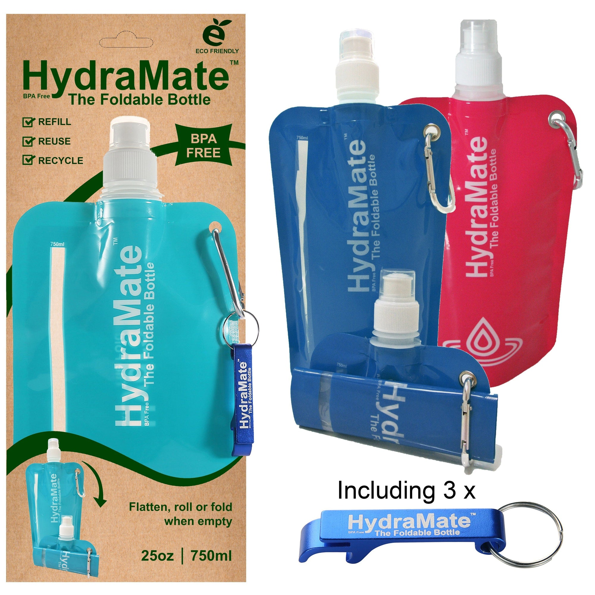HydraMate The Foldable Bottle