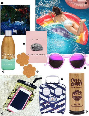Spring break pool party must haves