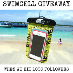 SwimCell giveaway on instagram