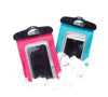 SwimCell Waterproof Phone Cases in the Snow