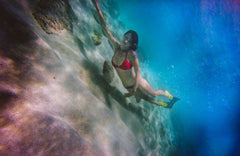 Underwater photo taken with SwimCell Waterproof Case on Samsung Note 4