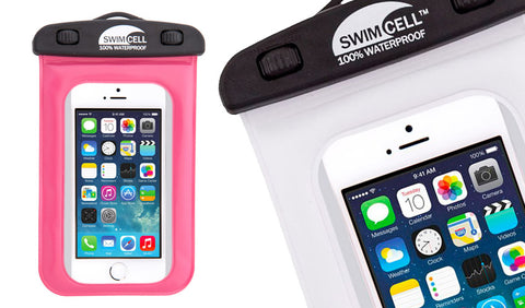 SwimCell waterproof case available from Surfgirl