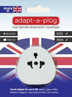 Travel Adapter For Use in UK