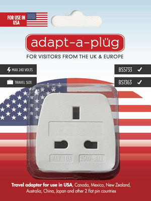 Travel Adapter For Use in USA