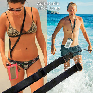 SwimCell Waterproof Case Adjustable Neck Strap
