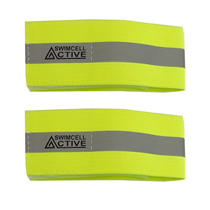 Reflective Neon Armband. Pack of 2.