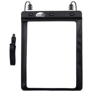 SwimCell Large Tablet waterproof case black windows
