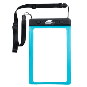 SwimCell Small Blue Tablet waterproof case windows