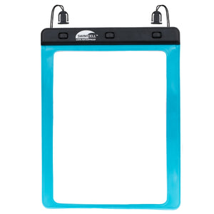 Large blue tablet case windows