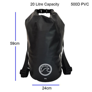 SwimCell 20l dry bag dimensions