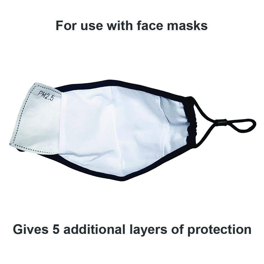 Face mask Filters PM 2.5 adult and kids