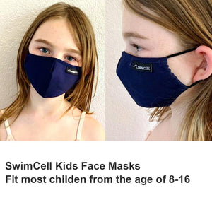 best kids cotton face mask 3 layers swimcell