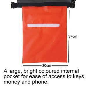 SwimCell dry bag pocket orange