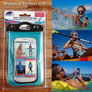 SwimCell Waterproof Case Packaging Perfect Gift for outdoor people.
