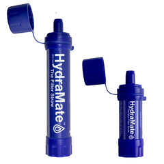 HydraMate Water Filter Straws Standard and Mini