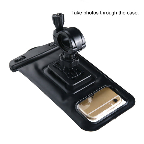 waterproof bike mount phone case