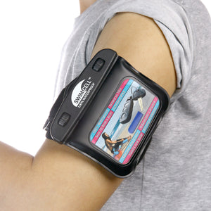 Extra Long Armband on SwimCell Waterproof armband case