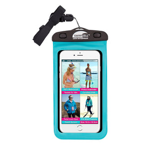 SwimCell 100% Waterproof Phone Case - Large (up to 10.3 x 19cm)