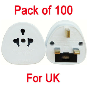 Travel Adapter Plug For UK, Europe and USA