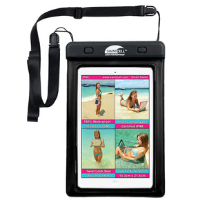 SwimCell Small BlackTablet waterproof case