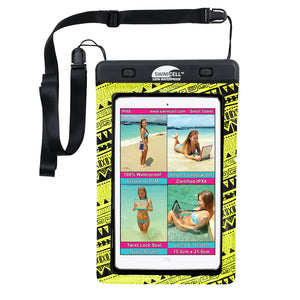 SwimCell 100% Waterproof Tablet Case - Small  (up to 15.3 x 21.3cm)