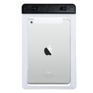 SwimCell Small with Tablet waterproof case with ipad