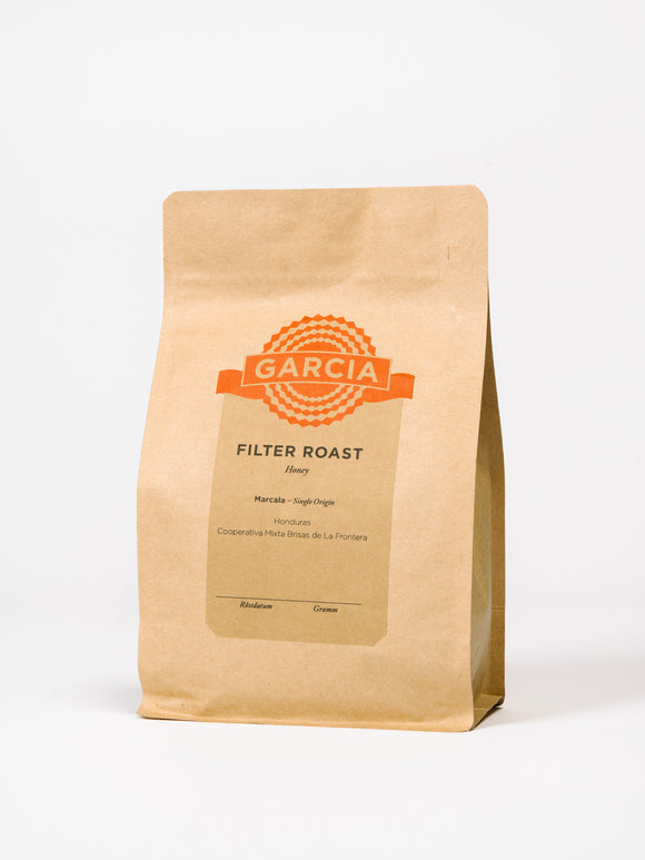 GARCIA Filter Roast 1kg | Honey Honduras | FILTER