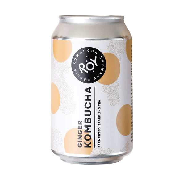 ROY Ginger Kombucha 330ml | ROY KOMBUCHA