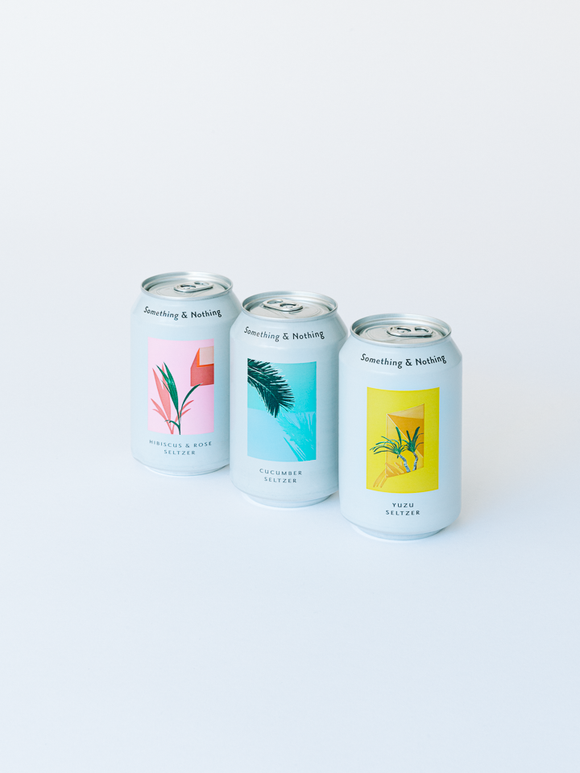 SELTZER TASTER SET | Something & Nothing |