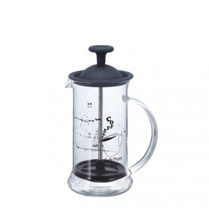 Cafe Press Slim Black | French Press | HARIO