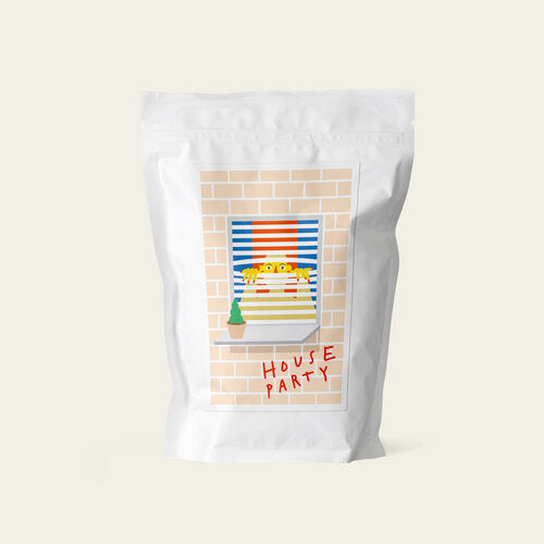 HARD LINES | Brasil House Party natural 250g | Espresso