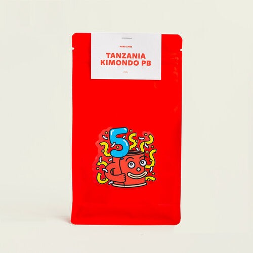 HARD LINES | Tanzania Kimondo PB natural 250g | Filter