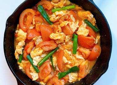 Chinese Tomato and Egg Stir-Fry