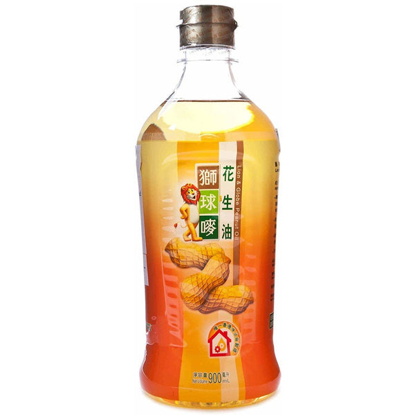 Peanut Oil - Lion and Globe brand (900ml)